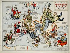 satirical maps of the world