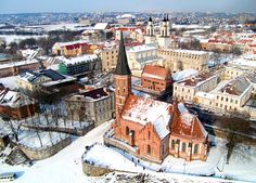 I had this town labeled wrong.  I think it is Kaunas.