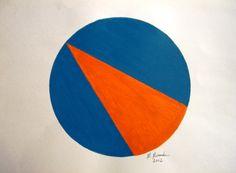 """""""Fenda"""" acrílicas sobre papel 0,42 x 0,30 2002 M. Sigrini Miranda"""