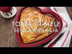 TORTA DI MELE SENZA BILANCIA ricetta con bicchiere