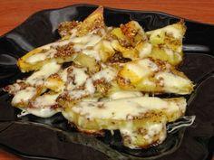 Cartofi în stil italian cu mozzarella Hawaiian Pizza, Mozzarella, Cauliflower, Macaroni And Cheese, Vegan, Vegetables, Cooking, Breakfast, Ethnic Recipes