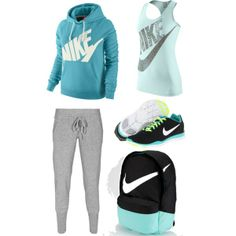 """""""Nike"""" by mpatterson3818 on Polyvore"""