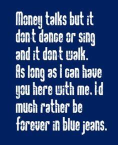 Neil Diamond - Forever in Blue Jeans - song lyrics, music lyrics, song quotes, music quotes, songs