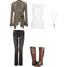 simple but cute outfit!