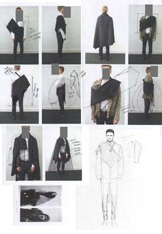 Fashion Sketchbook - fashion design development; fashion sketches; fashion portfolio // Niall Cottrell
