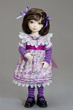 Simple BID Dress Pattern - Tutorial - Antique Lilac