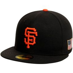 Men s San Francisco Giants New Era Black September 11th On-Field 59FIFTY  Fitted Hat 9e25eb88faf6