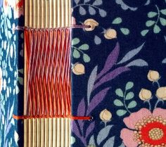 ONLINE COURSE: Sewing Weave - Zoopress Book Journal, Journals, Handmade Books, Book Binding, Weaving, Stitch, Color, Full Stop, Colour