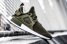 "adfbc2a02 adidas NMD XR1 ""Olive Green"" Men Trainer Limited Edition"