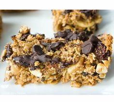 Kitchen Sink Granola Bars with Steel Cut Oats   A recipe that modifies easily to whatever you have in the pantry
