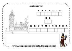 Fichas proyecto la vuelta al mundo Westminster, International Day, Yokohama, Ideas Para, Floor Plans, England, Diagram, Paris, Geek