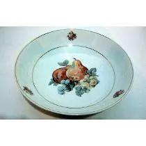 Antiga Saladeira/fruteira Em Porcelana Schmidt - Anos 60  (88,00)