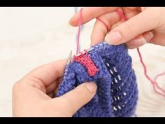 How to knit - i-cord join