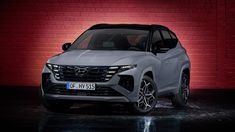 Hyundai are expanding their N Line family with the new fourth generation Tucson the latest model to get the sportier treatment. Tucson Car, Performance Inspired, New Hyundai, Cars Uk, Sport Seats, Futuristic Design, Sporty Look, Car Photos, Bmw M5