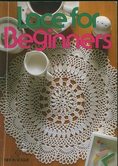 Lace for Beginners - 指韵翩跹. - Álbuns da web do Picasa Crochet Cross, Crochet Chart, Crochet Home, Thread Crochet, Filet Crochet, Crochet Doilies, Arm Knitting, Knitting Patterns, Crochet Patterns