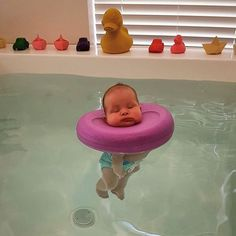 People Can't Handle How Cute These Baby Spa Photos Are