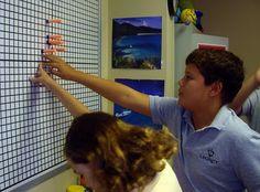 Math-n-spire: Coordinate Graphing {Math Lab: Centers}. nerf guns sound like so much fun. but i dont think it's a good idea to bring to school. Math Teacher, Math Classroom, Teaching Math, Teaching Ideas, Classroom Ideas, Teaching Strategies, Teaching Tools, Curriculum, Homeschool Math