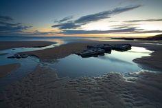 Rockpools at Dunraven Bay,Wales