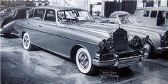 Rolls-Royce Silver Wraith Special Saloon (Vignale), 1954