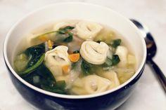 Recipe - Tortellini Vegetable Soup