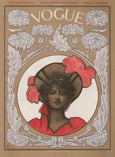 Vogue 1902 illustrated by ethel-wright