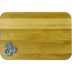 Cheese Board with Pewter Accent - 6 Pattern Options