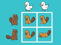 I hated doing these charts in biology!  This one is at least cute.