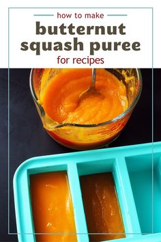 Butternut Squash Puree makes a great side, but it's also perfect for adding to other recipes. This make-ahead, freezer frendly veggie is excellent in a variety of recipes, and we've shared some of our favorites! Butternut Squash Puree Recipe, Mashed Butternut Squash, Dishes To Go, Pureed Food Recipes, How To Make Homemade, Other Recipes, Homemaking, Green Beans, Easy Meals