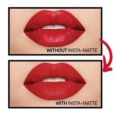 Shop Smashbox's Insta-Matte Lipstick Transformer at Sephora. This gel gives cream lipsticks a velvety-soft finish.