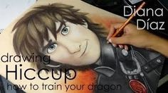 How to Train Your Dragon Drawing Book New Speed Drawing Hiccup How to Train Your Dragon - therezepte sites Hiccup And Toothless, Httyd, Diana Diaz, New Books, Good Books, Dragon Family, Speed Art, Dragon Rider, Cool Art Projects