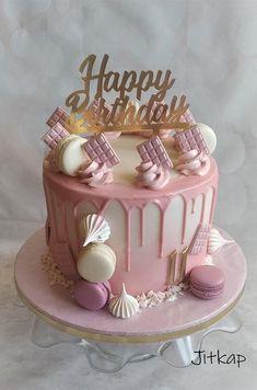 14th Birthday Cakes, Butterfly Birthday Cakes, Candy Birthday Cakes, Sweet 16 Birthday Cake, Elegant Birthday Cakes, Birthday Cakes For Teens, Beautiful Birthday Cakes, Birthday Cake With Flowers, Designer Birthday Cakes
