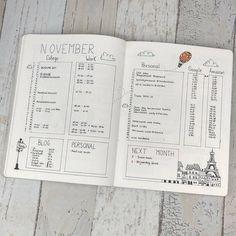 planningroutine Monthly Log