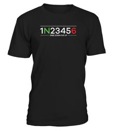 1 Down 5 Up Motorcycle Shift Pattern  #gift #idea #shirt #image #funny #campingshirt #new