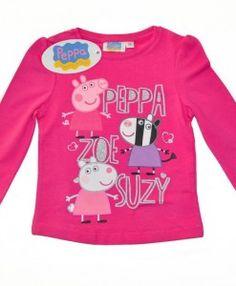 PEPPA PIG – ΠΑΙΔΙΚΗ ΜΠΛΟΥΖΑ ΜΕ PEPPA, ZOE ΚΑΙ SUZY http://www.babykid.gr/