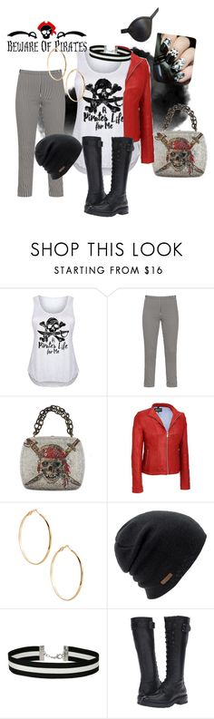 """""""arrrrrgh! pirate - plus size"""" by corrigank ❤ liked on Polyvore featuring Masquerade, GUESS by Marciano, Coal, Miss Selfridge, Frye and plus size clothing"""