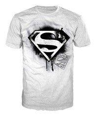 Superman Black Logo - Men`s T-shirt