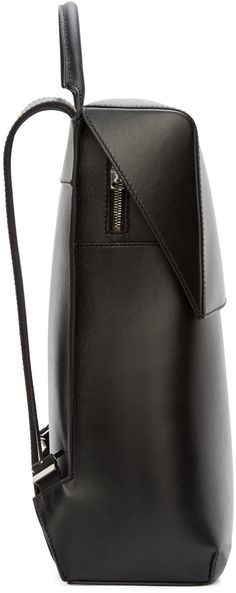 Balenciaga Black Leather Phileas Backpack                                                                                                                                                      More