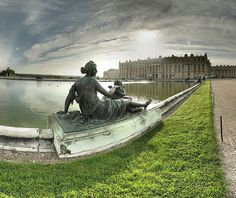 The Versailles    Another palace, which in French is known as Chateau de Versailles, is definitely worth visting. When the castle was built, Versailles was a regional village, today a suburb of Paris. Since 1682 The Court of Versailles has been the central power in France, during that regime. Years later,the facade becomes a rectilinear garden terrace, by replacing the center of the Mirrors, age-specific style of Louis XIII.
