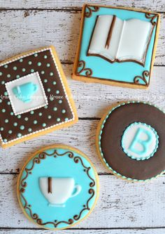 Personalized bookstore cookies