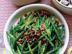 Pair this nutty-sweet green bean side dish with creamy mashed potatoes and the protein of your choice for an easy yet impressive...