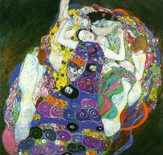 Gustav Klimt 'The Virgin'