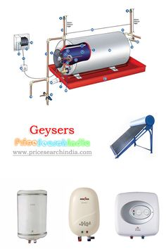 Hey guys, Have a look at different models of geysers with their features and prices with us.