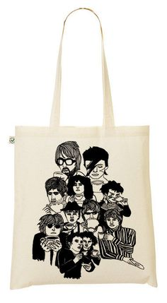 Illustrated Under the Influence tote bag