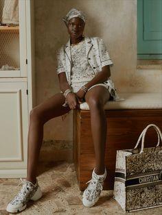 Dior Fashion, Fashion News, Fashion Brands, Womens Fashion, Pyjamas, Constellations, Short Boxer, Christian Dior, Anorak