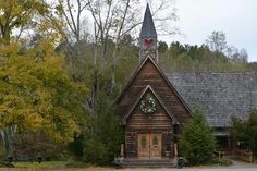 HEARTLAND WEDDING CHAPEL in Townsend, TN (Smokey Mountains) - Don and I were were married here on May 2, 1998 . . . BEST DAY OF OUR LIVES!!!