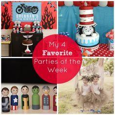 My 4 Favorite Parties of the Week