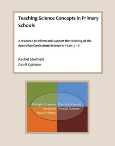 Teaching Science Concepts in Primary Schools.  A new resource to inform and support the teaching of the Australian Curriculum Science in Years 3-6.  - See more at: http://www.teachersuperstore.com.au/product/australian-curriculum/teaching-science-concepts-primary-schools/#sthash.WU9bzp7F.dpuf