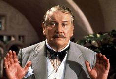 Peter Ustinov as the Belgian sleuth Hercule Poirot. Hercule Poirot, Agatha Christie's Poirot, Peter Ustinov, Sherlock Holmes, Detective, Evil Under The Sun, Witness For The Prosecution, Death On The Nile, Angela Lansbury