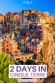 Whether you stay 1 or 2 days in Cinque Terre - this itinerary will help you plan your Cinque Terre trip in Italy (Liguria). Find out about the best things to do and see and important travel tips for your stay.