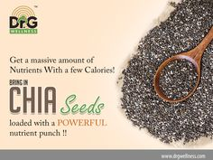 Do you know CHIA SEEDS have become the top pick for most dietitian's across the world due to its great nutrient value?